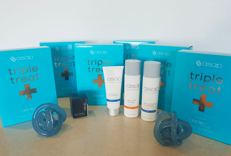 triple treat packs from ASAP skin care